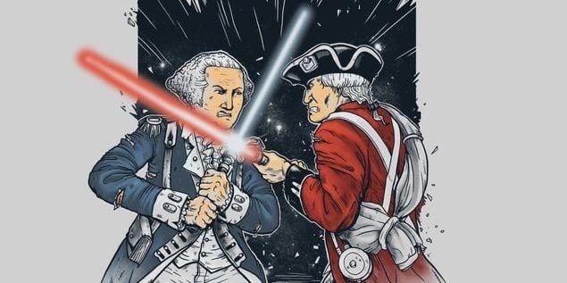 Star Wars American Revolution Style