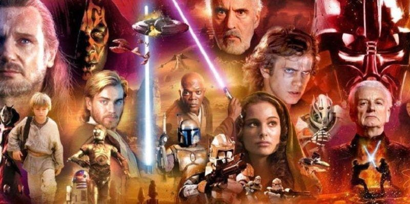 Prequel Villains heroes surrounded by villains in the Star Wars prequels