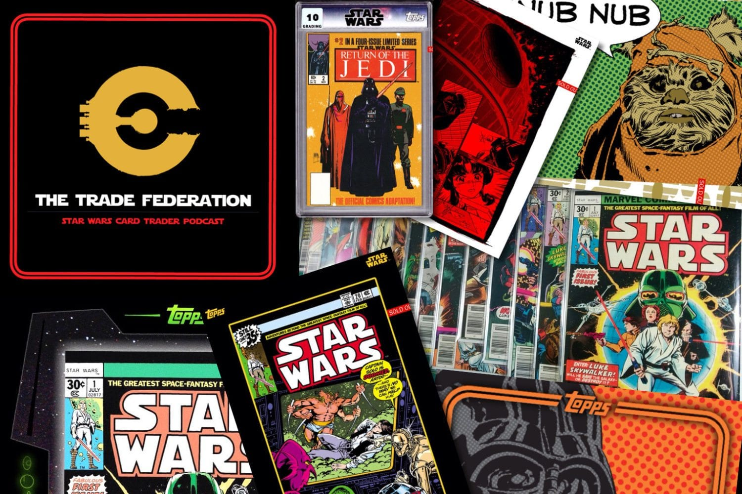 comic books Trade Federation Podcast 69