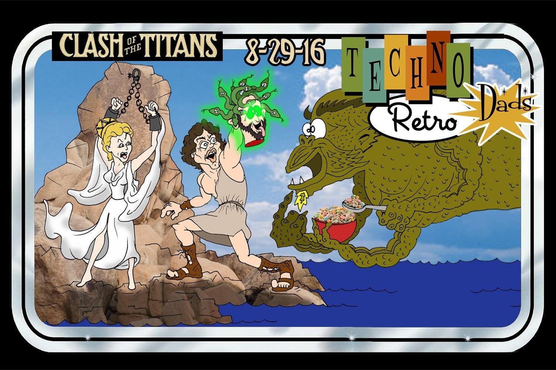 Clash of the Titans Percy vs the Kraken