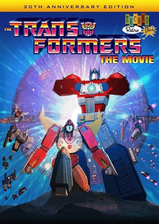TechnoRetro Dads Transformers the Movie