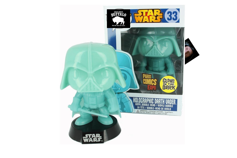 Holographic Darth Vader