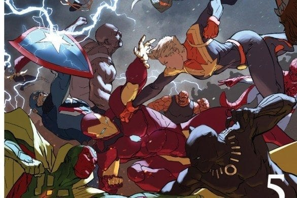 A failure to communicate leads to all out war among the heroes. This review contains major spoilers concerning Marvel's Civil War II #5. Civil War II #5