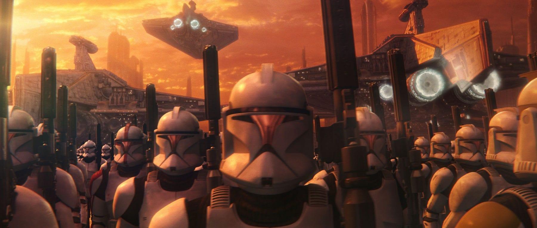 Grand army- Star Wars politics