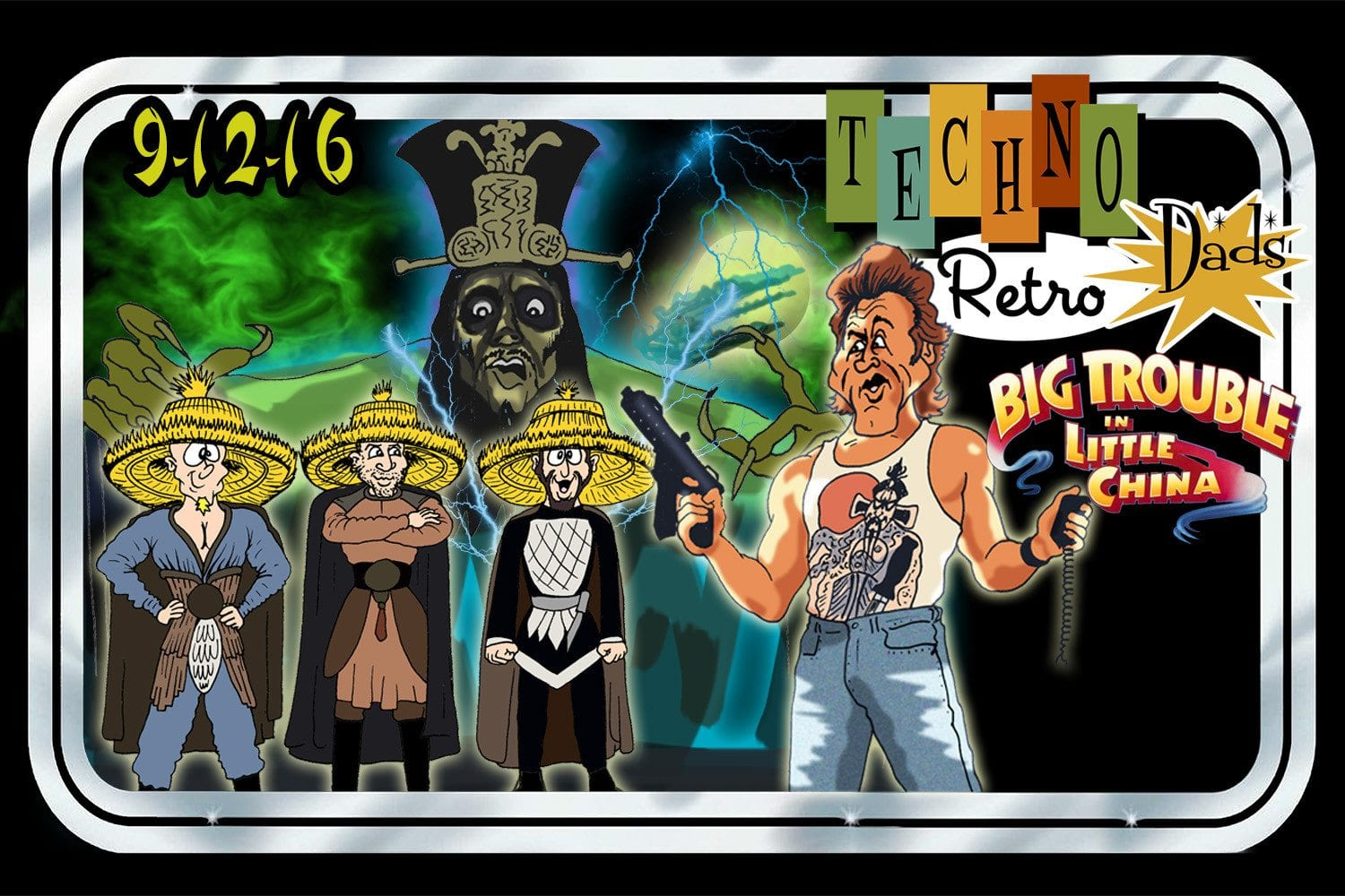 TechnoRetro Dads: Little China Is in Big Trouble with Brews and Blasters' Joe Tavano in Boston