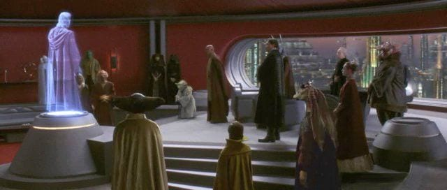 chancellors office- Star Wars politics