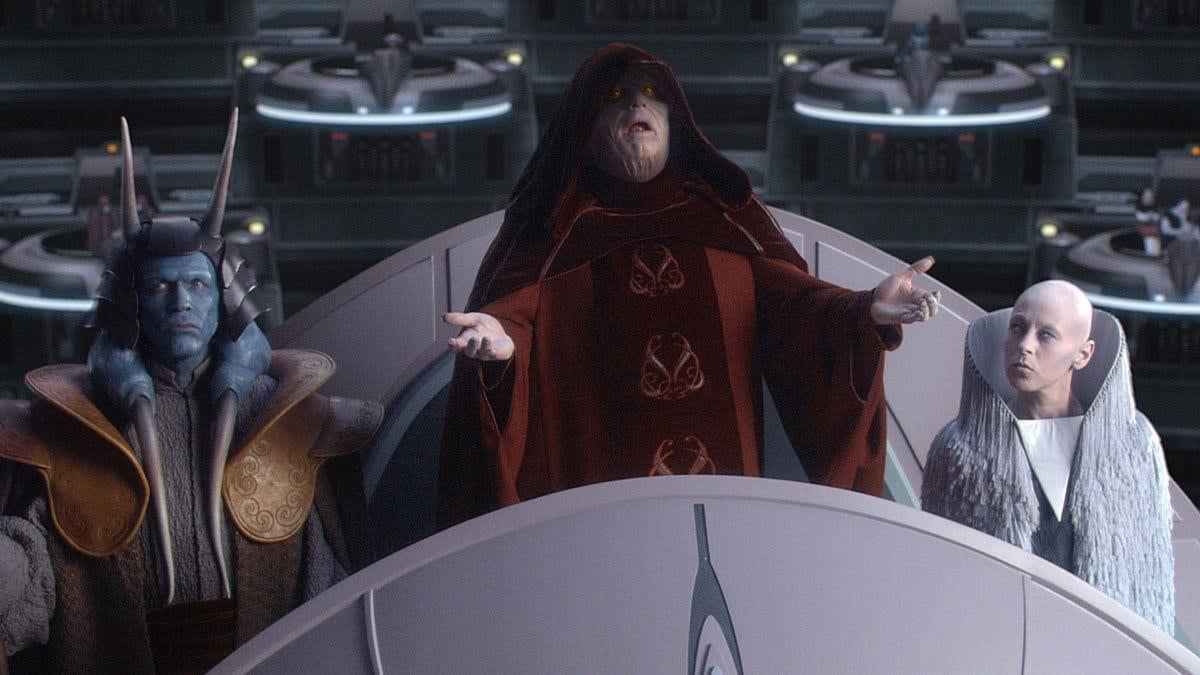 On Palpatines side- Star Wars politics