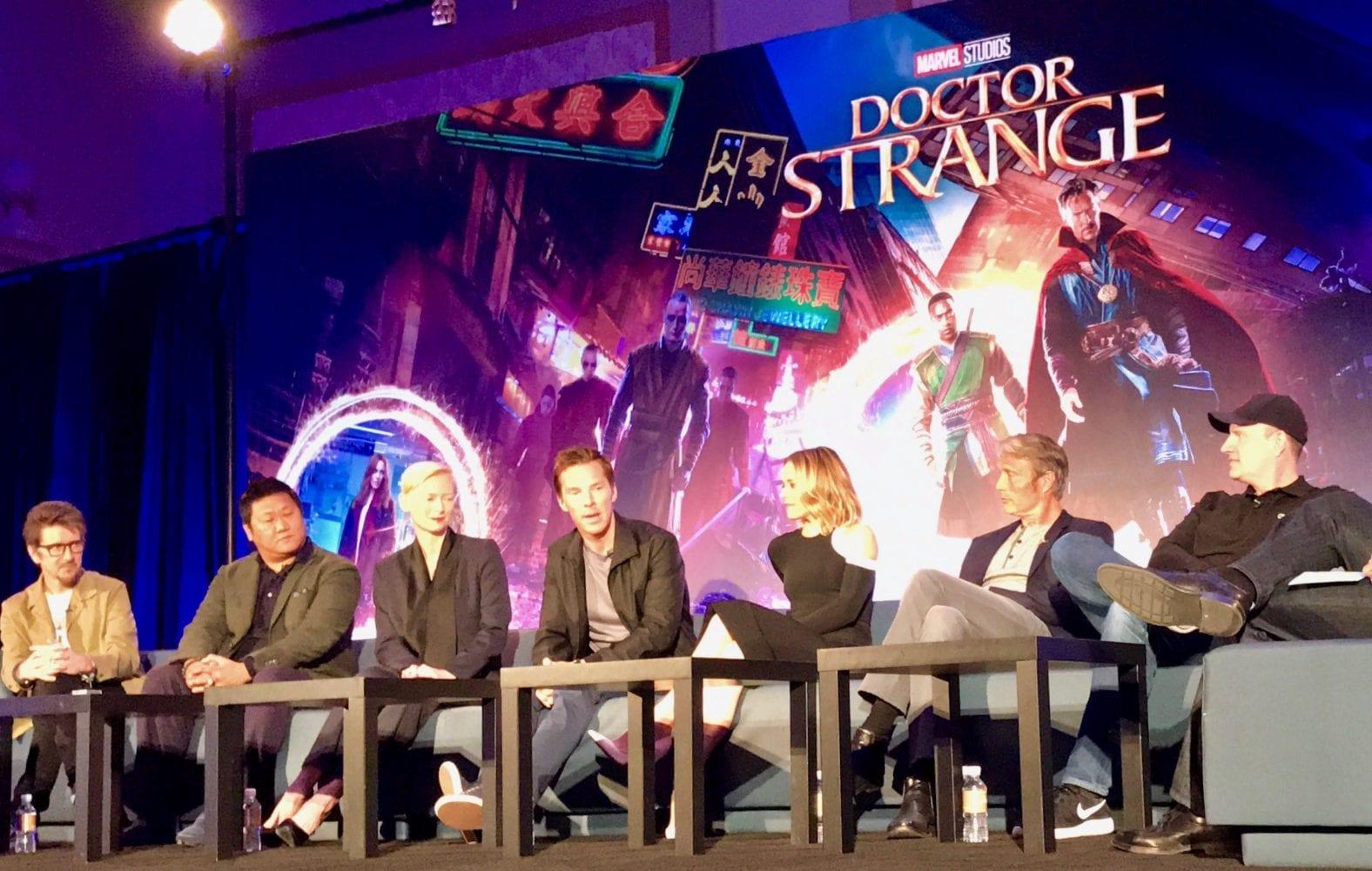 doctor strange press