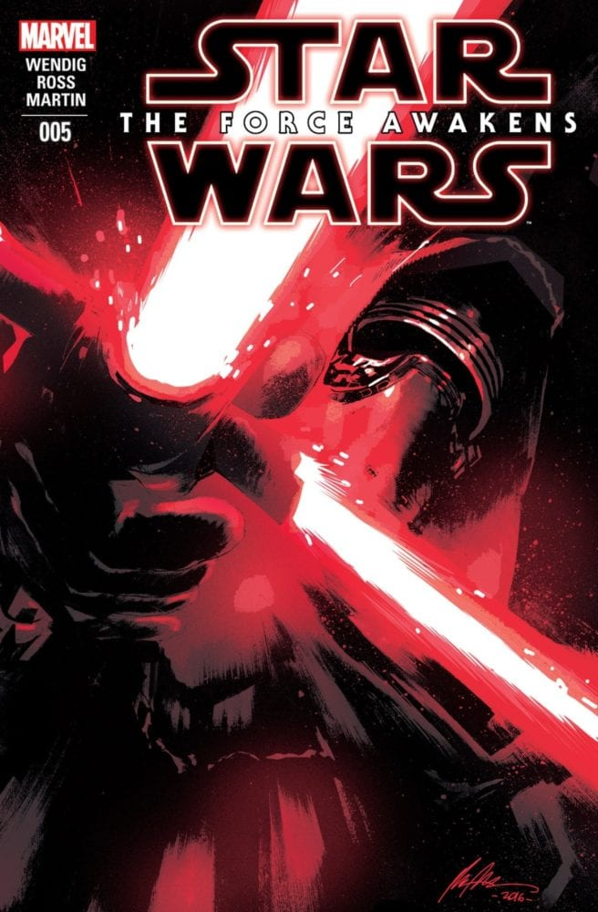 The Force Awakens 5 Cover
