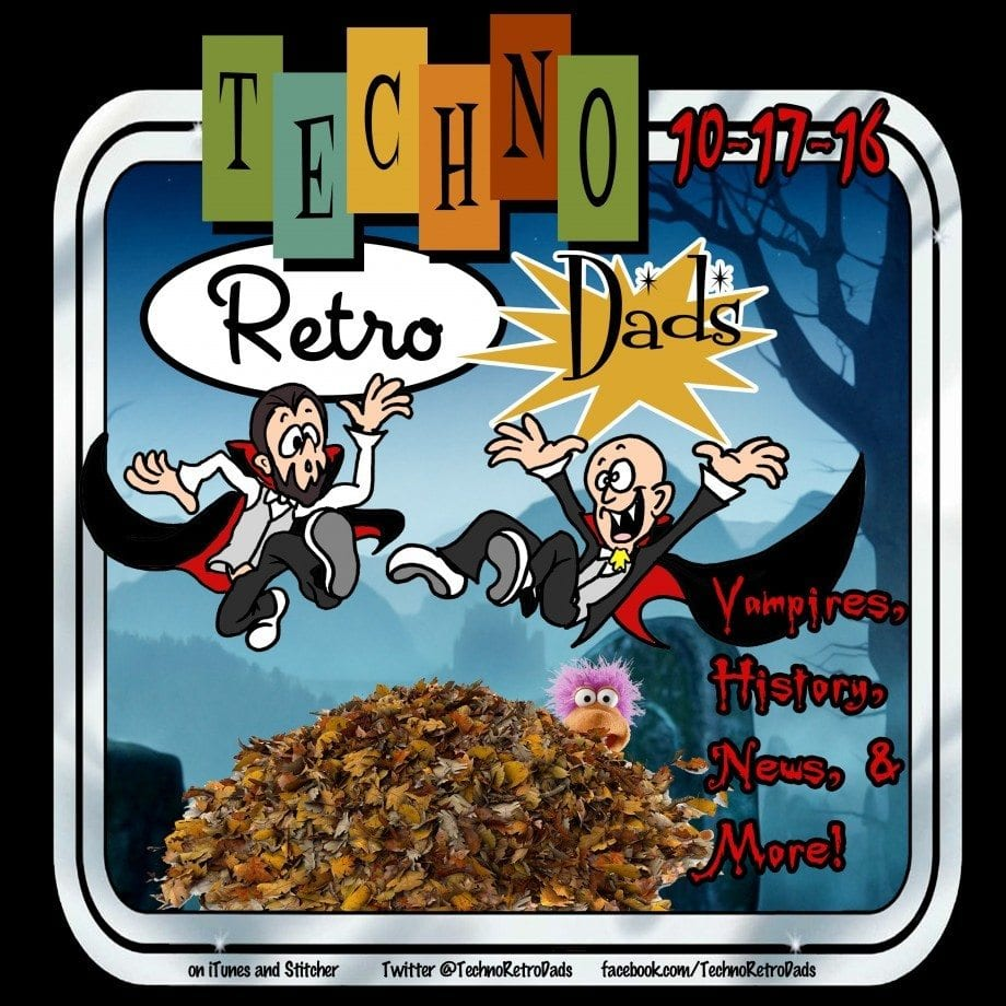 TechnoRetro Dads Falling Leaves