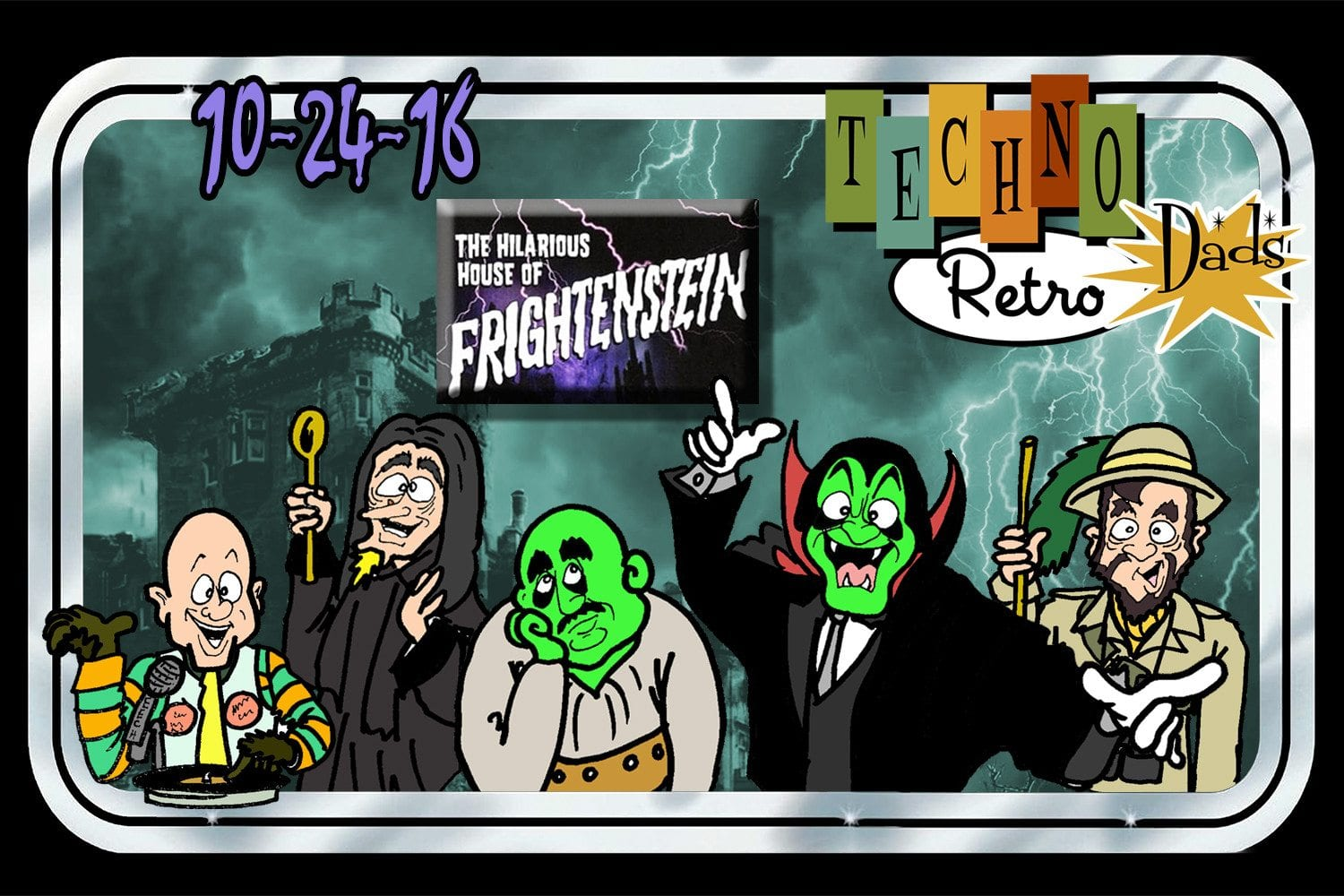 The Hilarious House of Frightenstein on TechnoRetro Dads