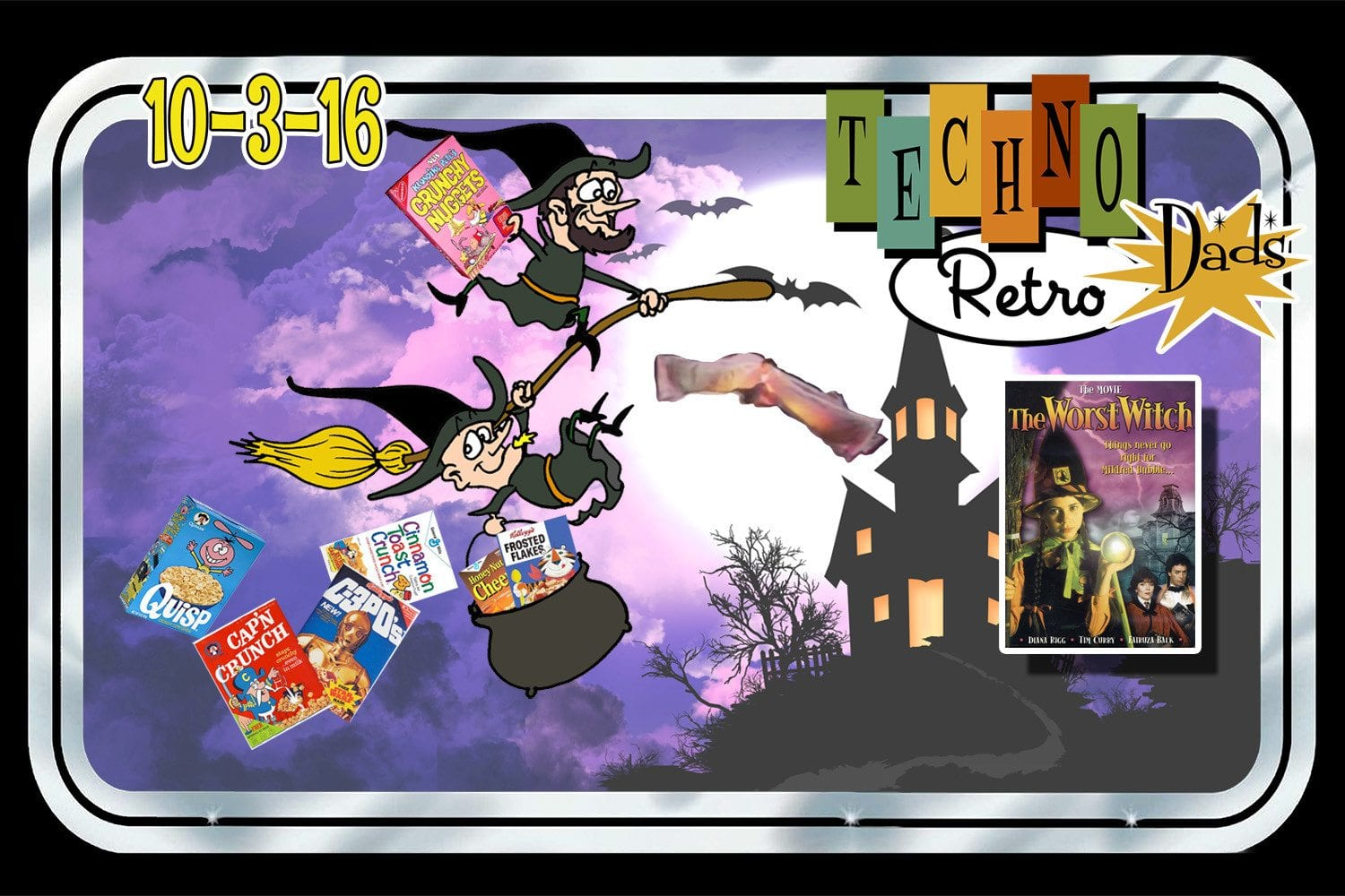TechnoRetro Dads: Which Witch Watches The Worst Witch