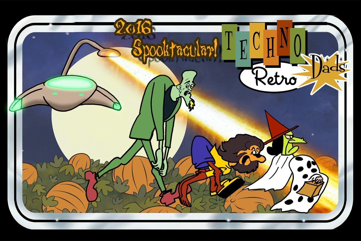 TechnoRetro Dads Spooktacular 2016