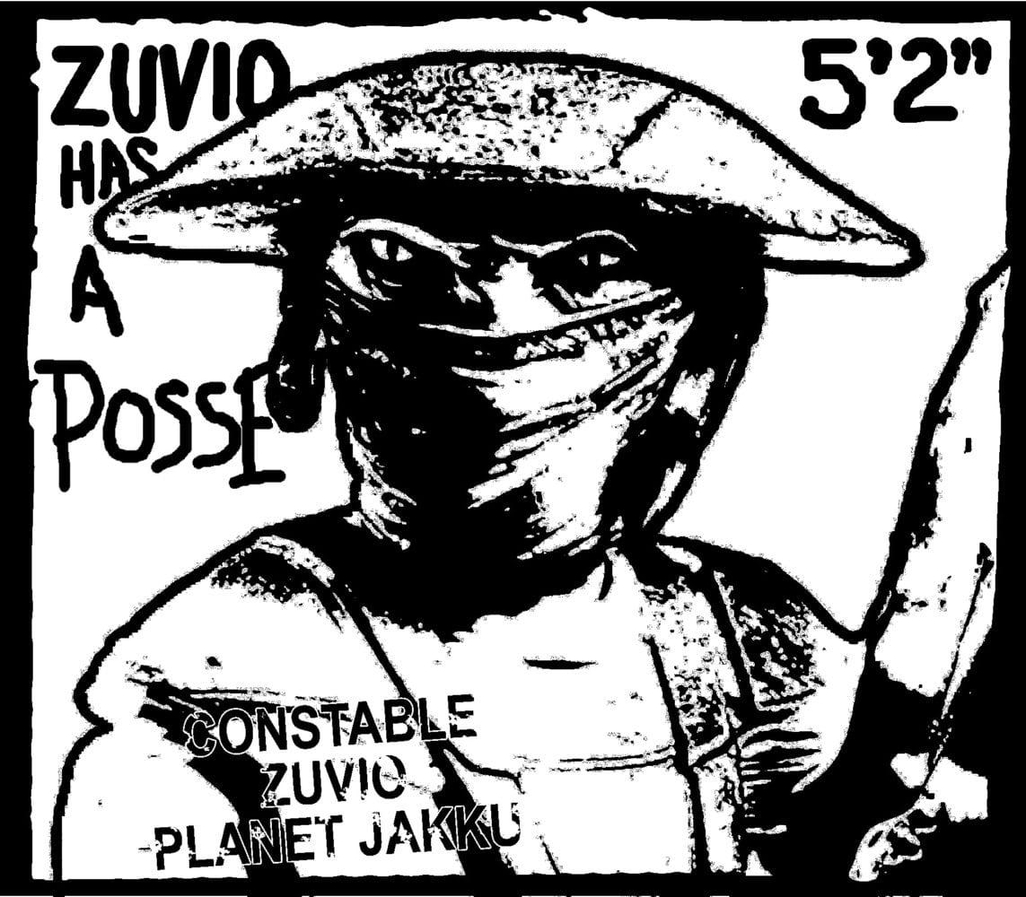 zuvio has a posse Constable Zuvio