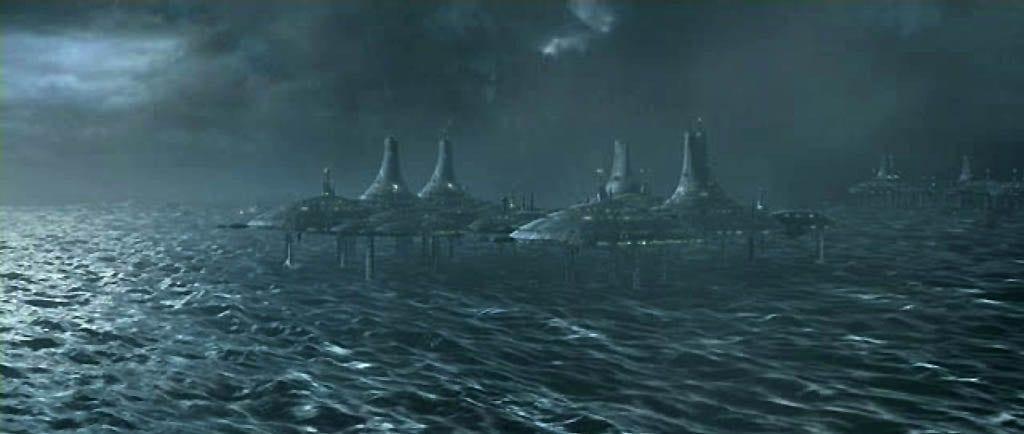 prequel trilogy worlds - Kamino