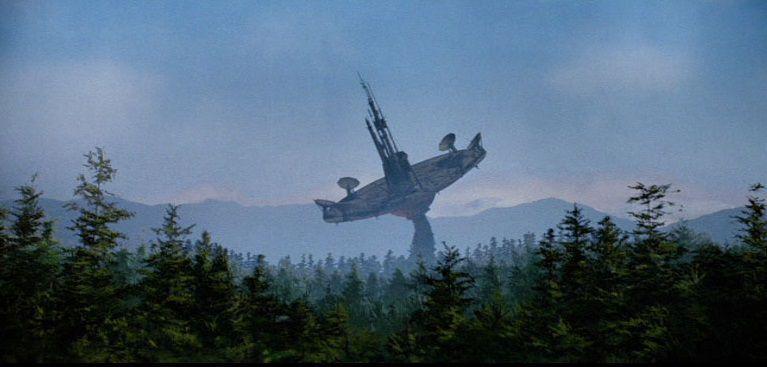 prequel trilogy worlds - Endor