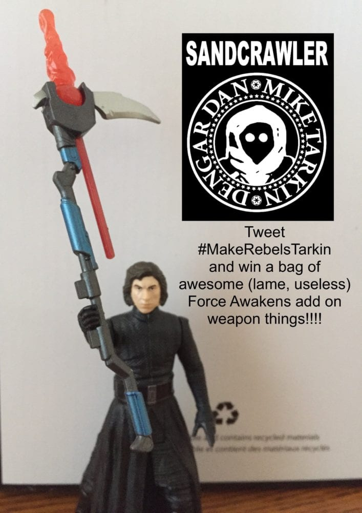 #MakeRebelsTarkin Force Awakens Toys, Hasbro, Contest