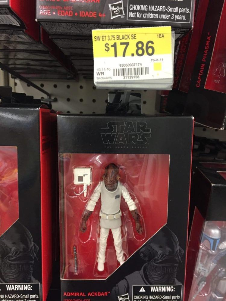 Rogue One, Black Series, Canada WalMart, Wal Mart