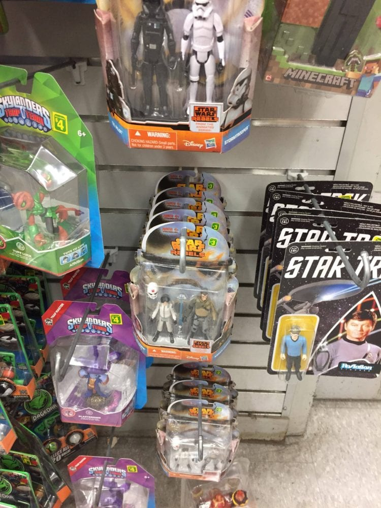 action figures, dollarama, canada, missioin series, star wars rebels