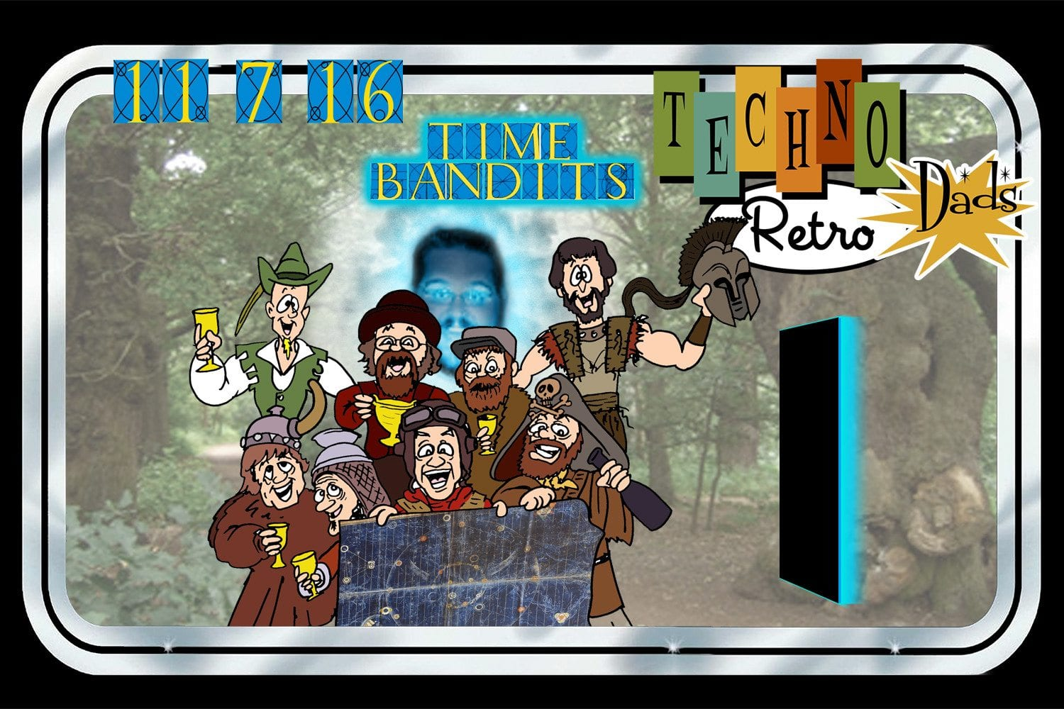 TechnoRetro Dads Time Bandits