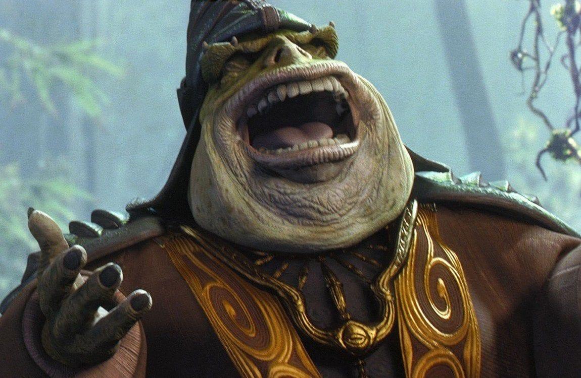 Star Wars tribalism - Boss Nass