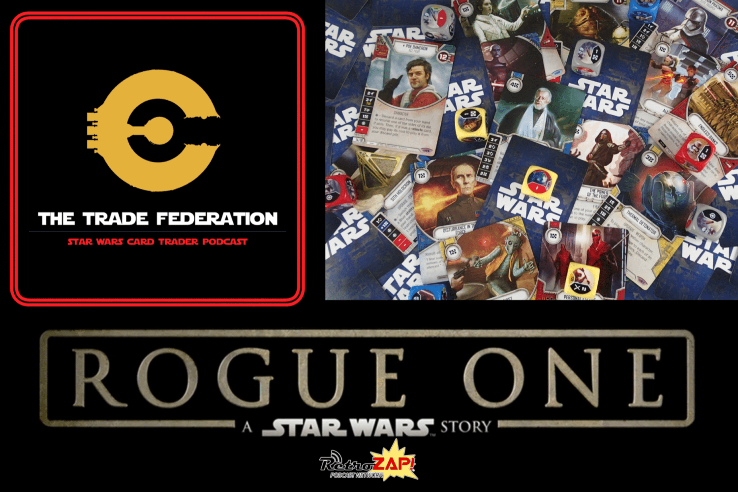 Star Wars Destiny Trade Federation 84 Rogue One