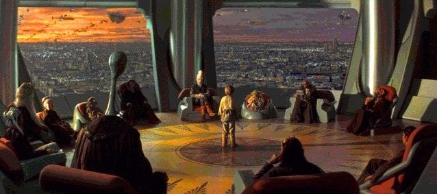 Star Wars tribalism - Jedi Council