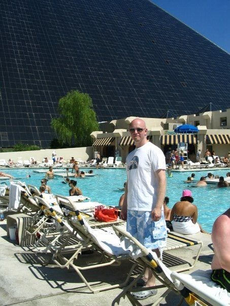 JediShua in Vegas circa 2008. He hasn't changed a bit!