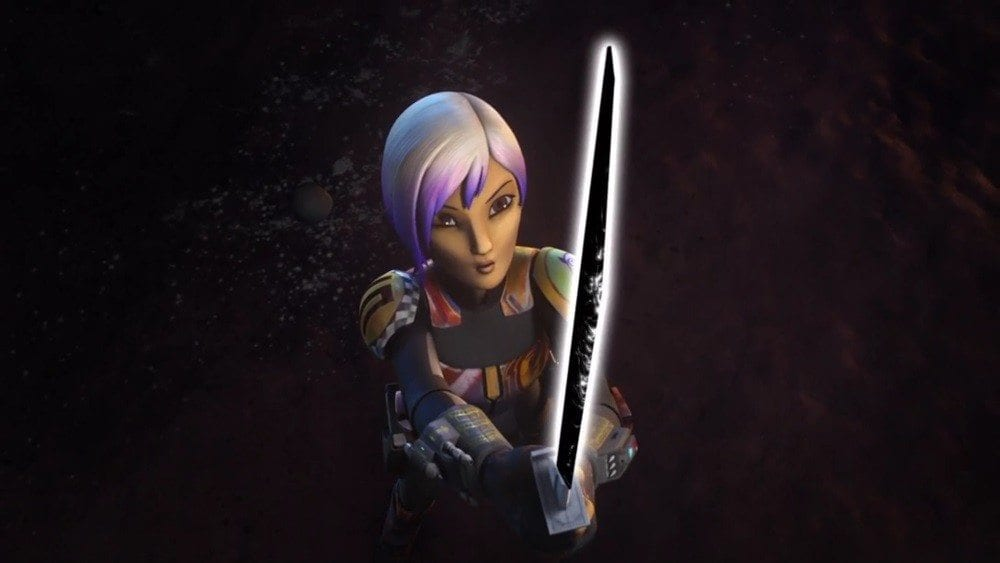 Starships, Sabers, and Scoundrels Trials of the Darksaber Sabine