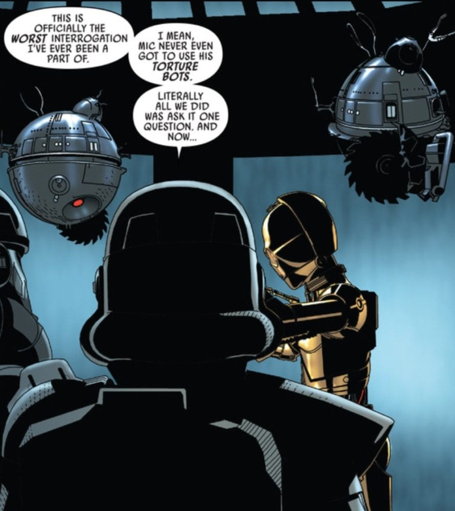 Star Wars #26 Interrogation