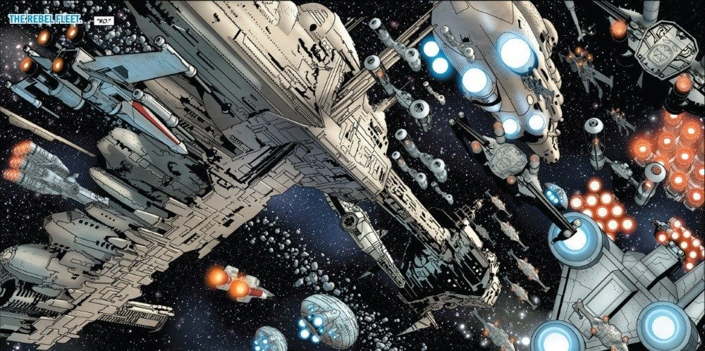 Star Wars #26 Rebel Fleet