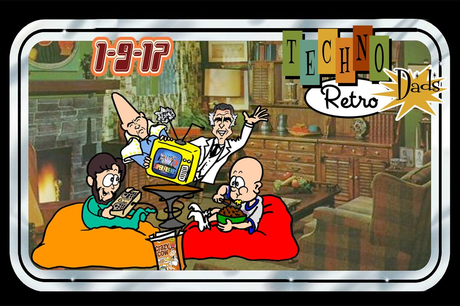 TechnoRetro Dads Aftershocks of 1977