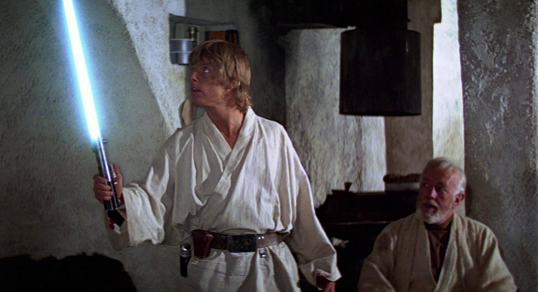 Star Wars mysteries- Luke and lightsaber