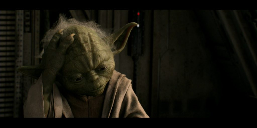 Star Wars mysteries- Yoda confused