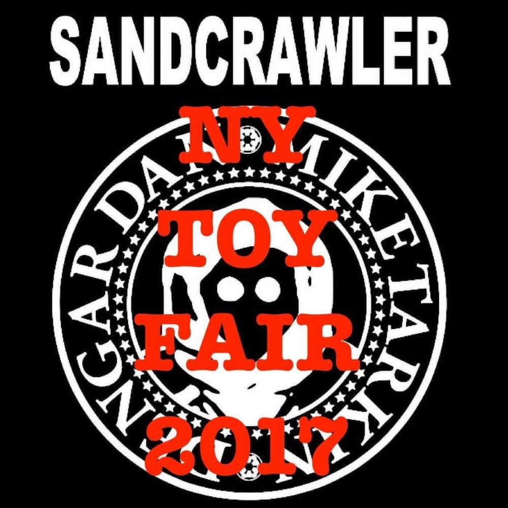 sandcrawler podcast toy fair