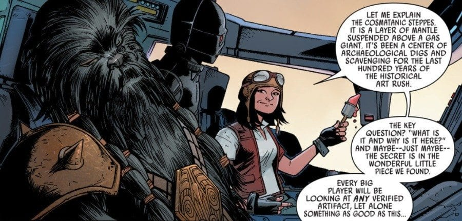Starships, Sabers, and Scoundrels - Darth Maul and Doctor Aphra- Aphra and Crew