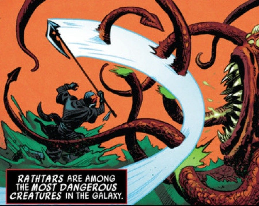Darth Maul #1 - Favorite Panel