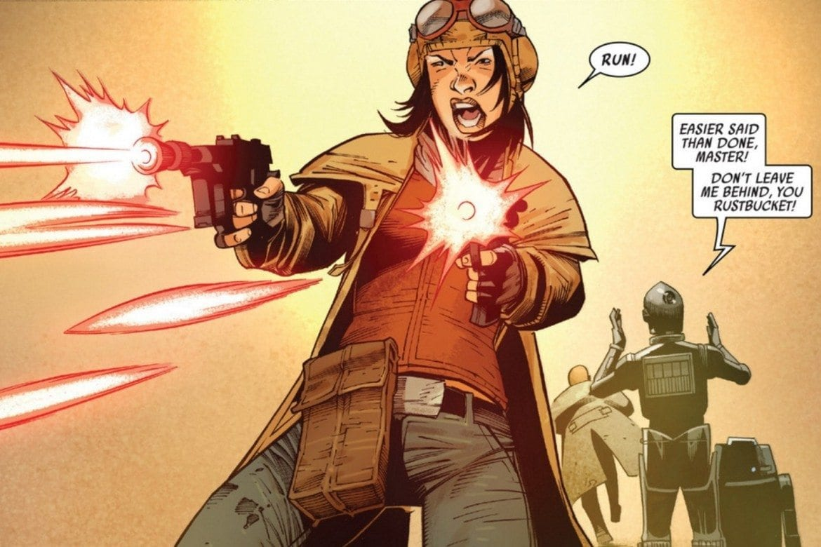 Doctor Aphra #4 Feature Image - Aphra the Gunslinger