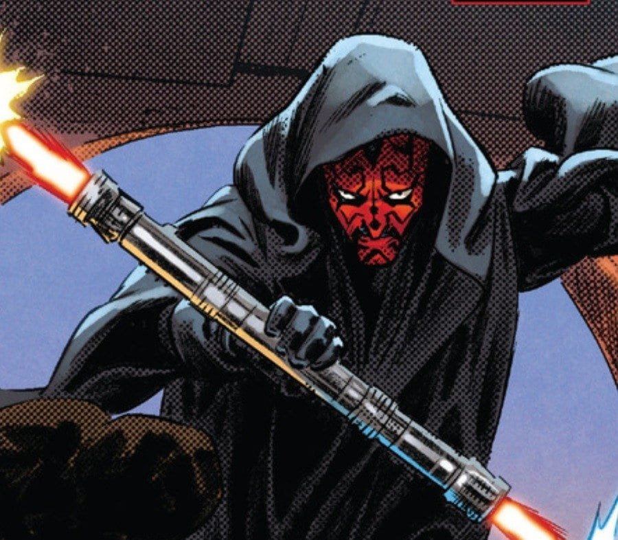 Starships, Sabers, and Scoundrels - Darth Maul and Doctor Aphra - Darth Maul