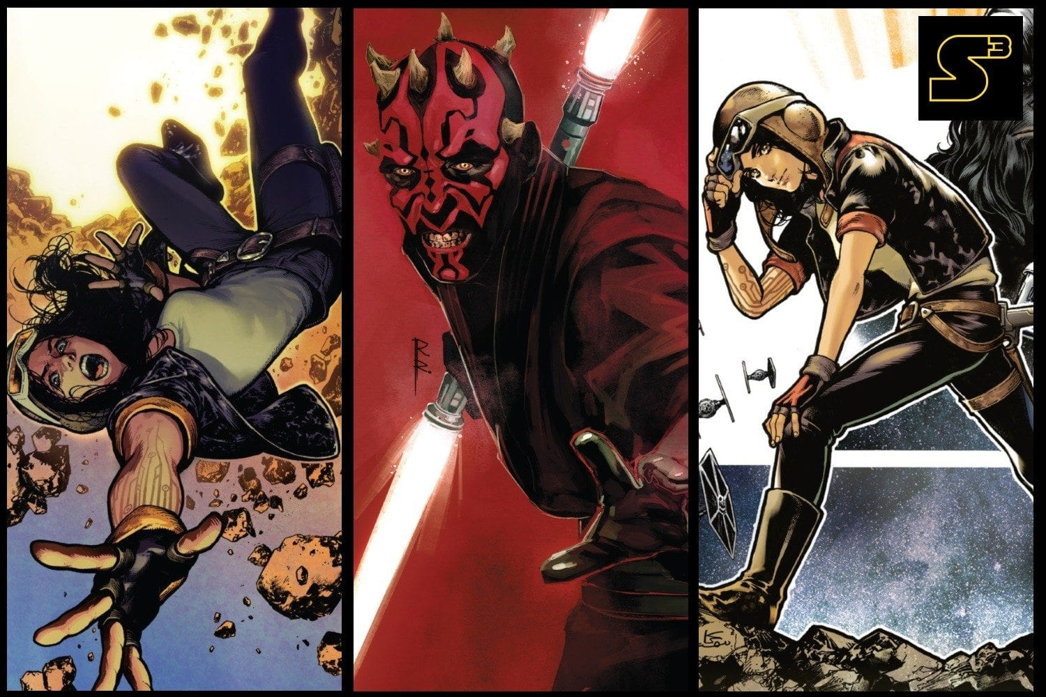 Starships, Sabers, and Scoundrels - Darth Maul and Doctor Aphra Featured Image