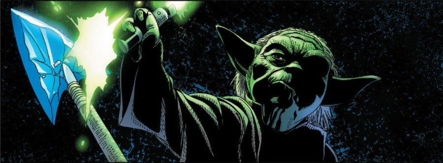 Star Wars #28 Yoda Challenged
