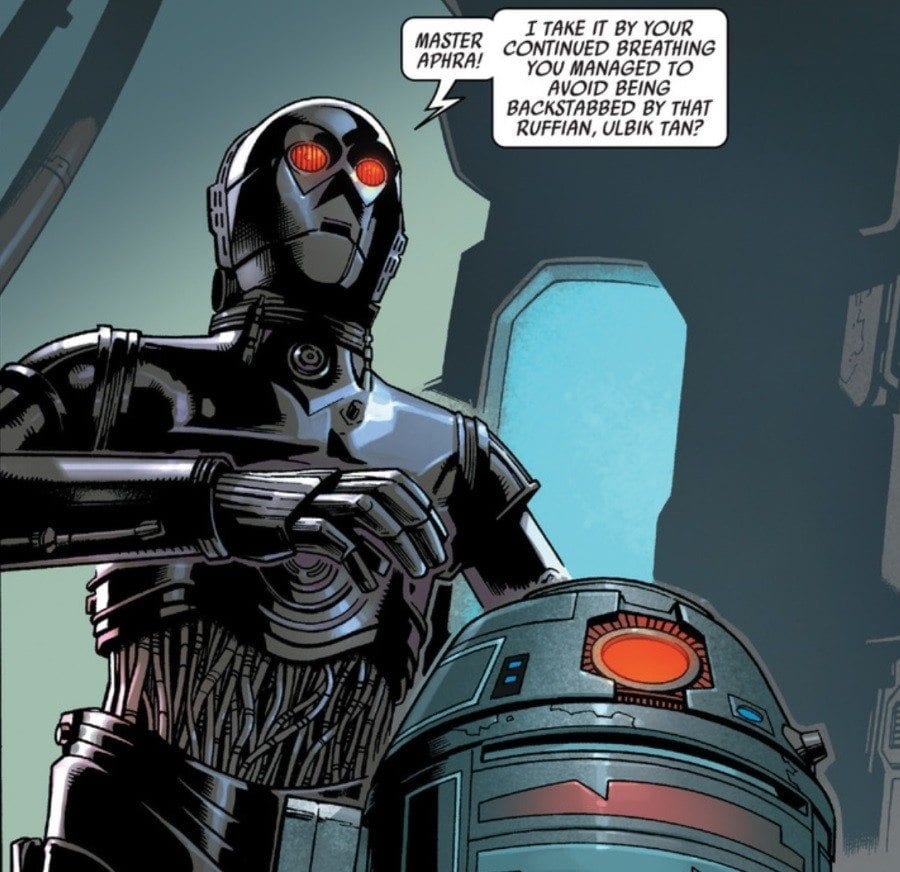 Starships, Sabers, and Scoundrels - Episode 21.5 - Darth Maul and Doctor Aphra - Triple Zero and BT-1
