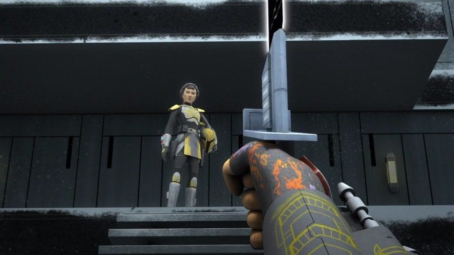 Starships, Sabers, and Scoundrels - show 22.5 - Legacy of Mandalore - the Darksaber