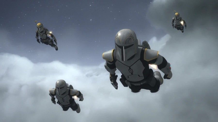 Starships, Sabers, and Scoundrels - show 22.5 - Legacy of Mandalore -Flying Mandalorians