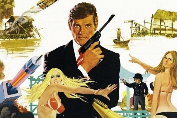 The Man with the Golden Gun- poster