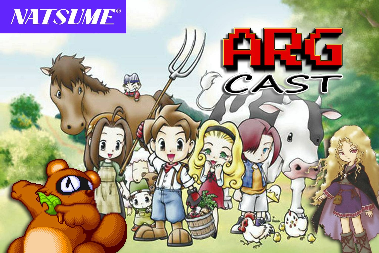 ARGcast #52: Farming Harvest Moon Memories with Natsume