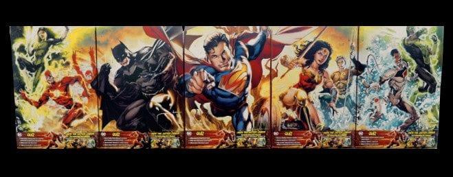 TechnoRetro Dads GM Cereals DC Superheroes