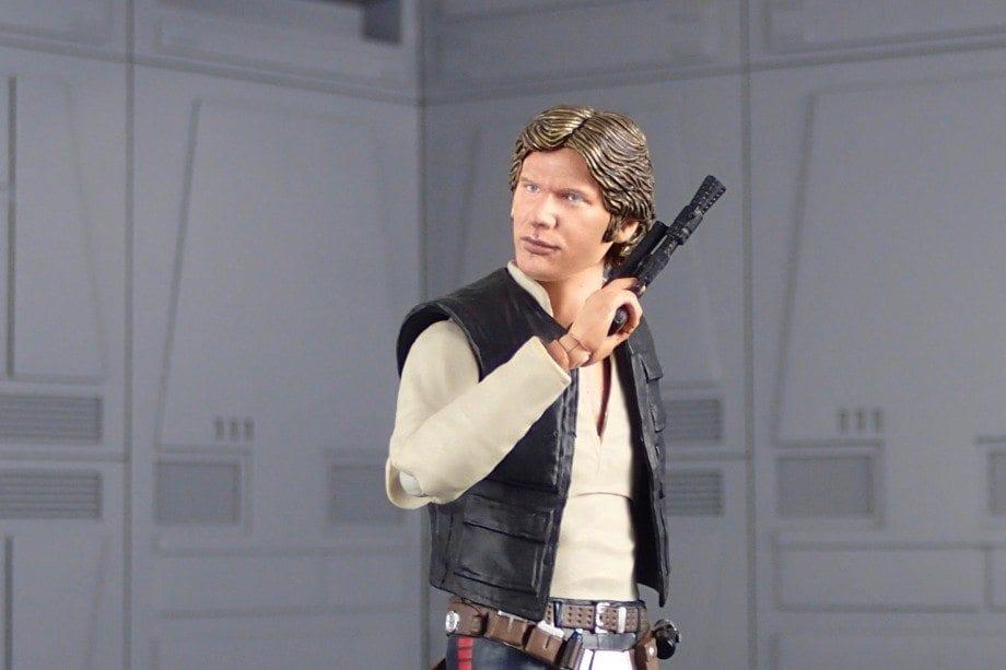 Figuarts Han Solo and Mafex Boba Fett