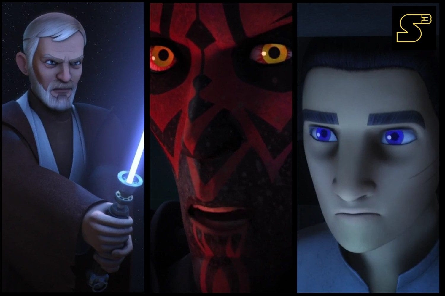 Starships, Sabers, and Scoundrels - Show 24.5 - Twin Suns and Legacy of Maul - Feature Image