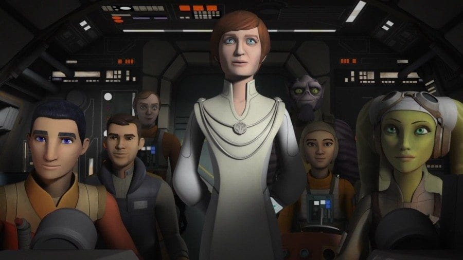 Starships, Sabers, and Scoundrels - show 23 - Mon Mothma on the Ghost - secret cargo